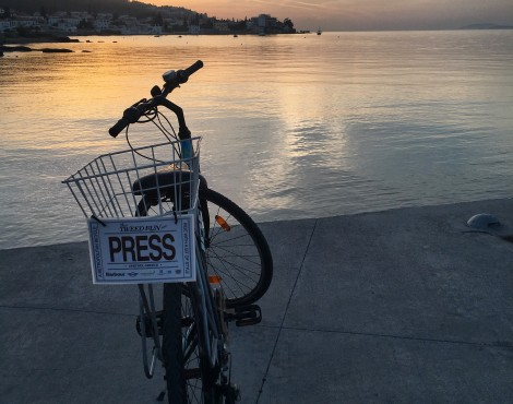 Tweed Run Spetses 2016 with Barbour
